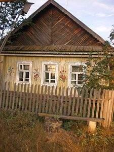 Russisches Bauernhaus Ural Fisch