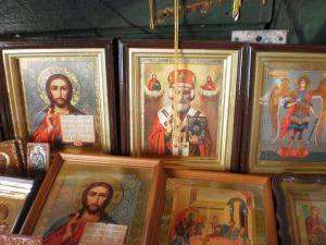Ikonen Christi-Verklärungs-Kathedrale Newjansk Kirchenmusik