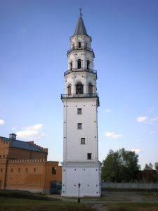 Turm Christi-Verklärungs-Kathedrale Newjansk Schule