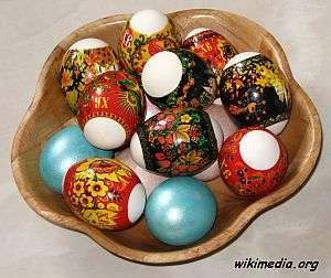 ostereier, Russische Ostereier – Ursprünge und Rezepte