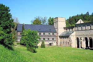 kloster paulinzella, Kloster, Jagdschloss, Paulinzella, Thüringen