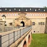 Zufahrtsbrücke, Petersbrücke, Peterstor, Zitadelle, Petersberg, Erfurt