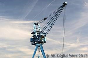 Hafenkran, Kran, Hafen Offenbach